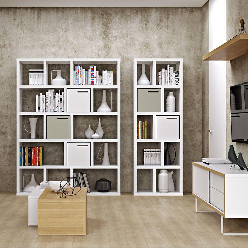 Bibliotheque Texas Disponible En 5 Coloris Camif Fr Bibliotheque Decoration Maison Rangement Ouvert