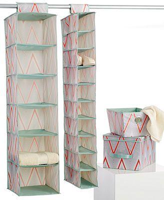 The MacBeth Collection Cici Pop Coral 4-Piece Storage Set