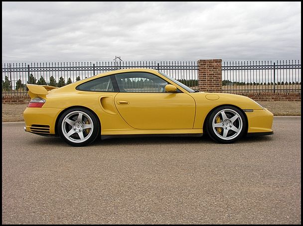 2002 Porsche GT2 Turbo 3.6L