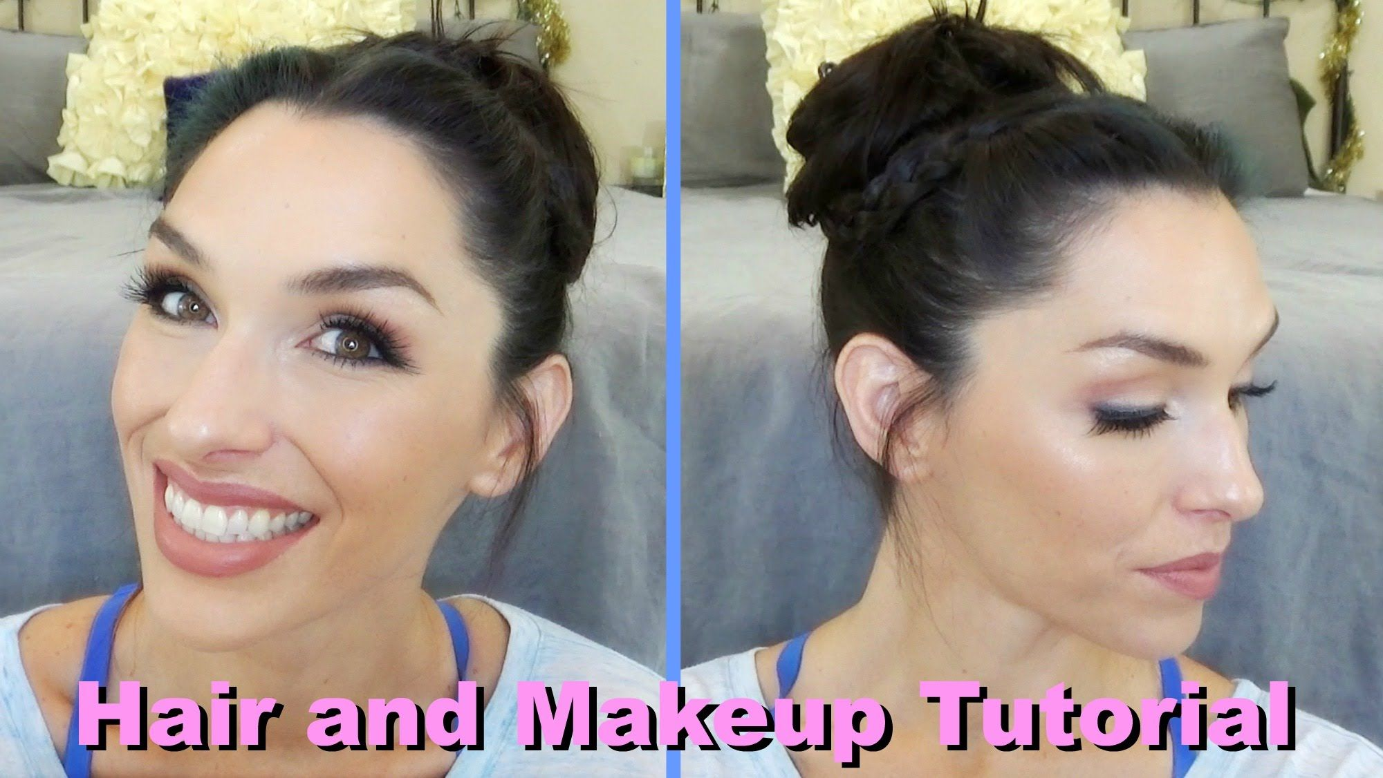 Full Face Summer Makeup and Hair Tutorial