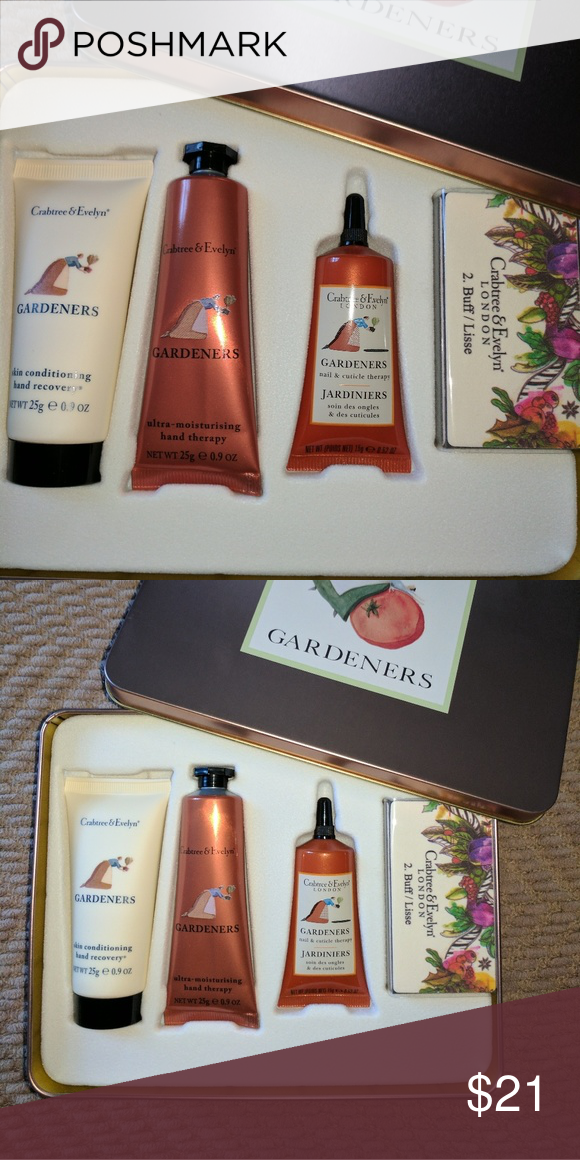 Crabtree and Evelyn hand fix kit (2 sets for sale) all new and ...