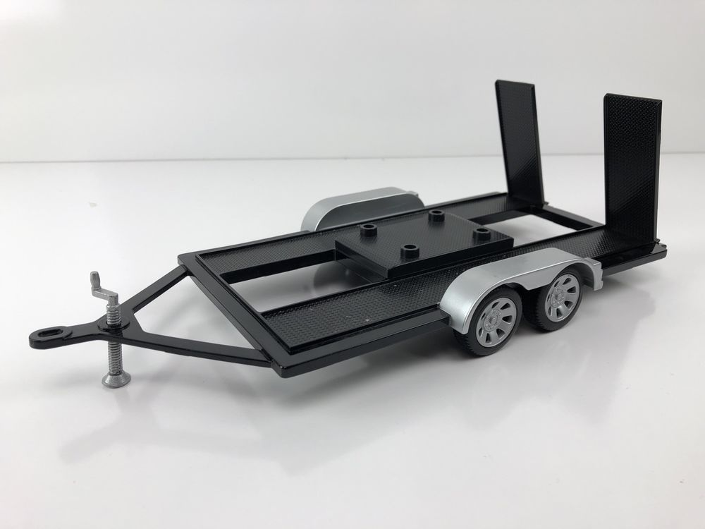 TOW TRAILER FOR 1/18 SCALE DIECAST MODEL CARS / TRUCKS BY MOTORMAX ...
