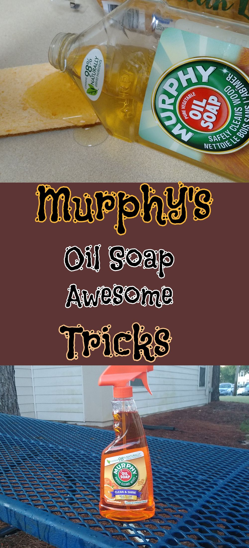 Murphy's Oil Soap tips and tricks will get you ahead of your household duties.
