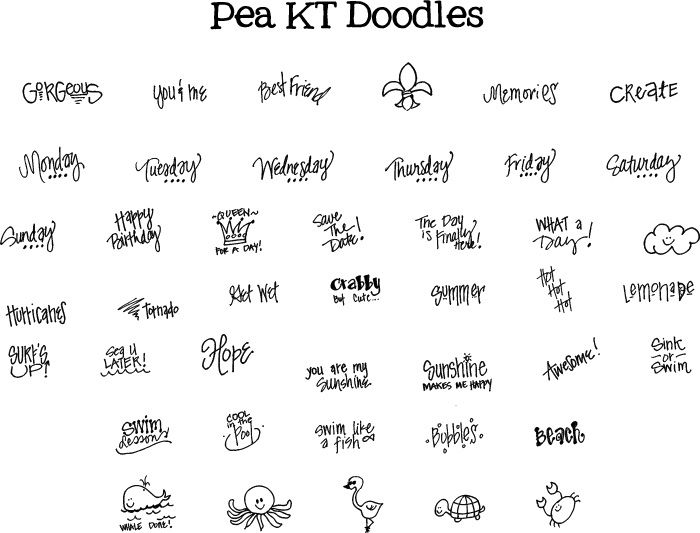 Discover Ideas About Doodle Fonts