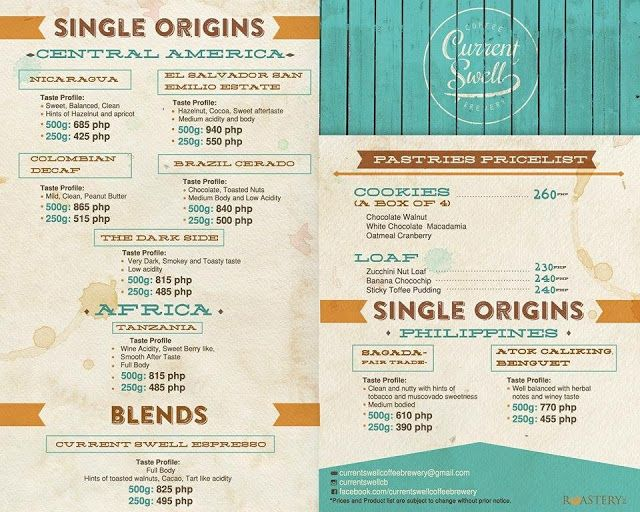 Freshly Roasted Coffee Beans Philippines Cur Swell Brewery Price List