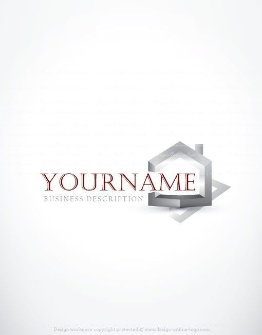 3d house real estate logo free business card in 2018 logomarca 3d house real estate logo free business card in 2018 logomarca pinterest logos logo design template and logo design wajeb Choice Image