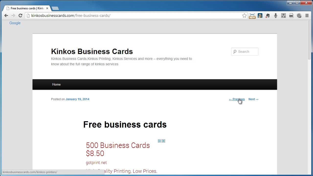The Inspiring Kinkos Business Cards Pertaining To Kinkos Business Card Template Business Card Template Word Free Business Card Templates Business Card Template