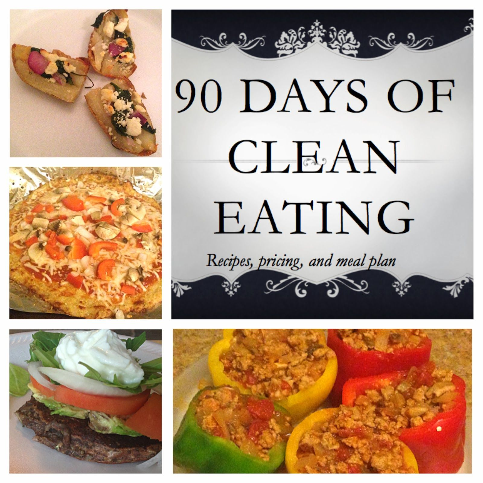 90 Day Clean Eating Meal Plans with Recipes and Pricing | Clean ...