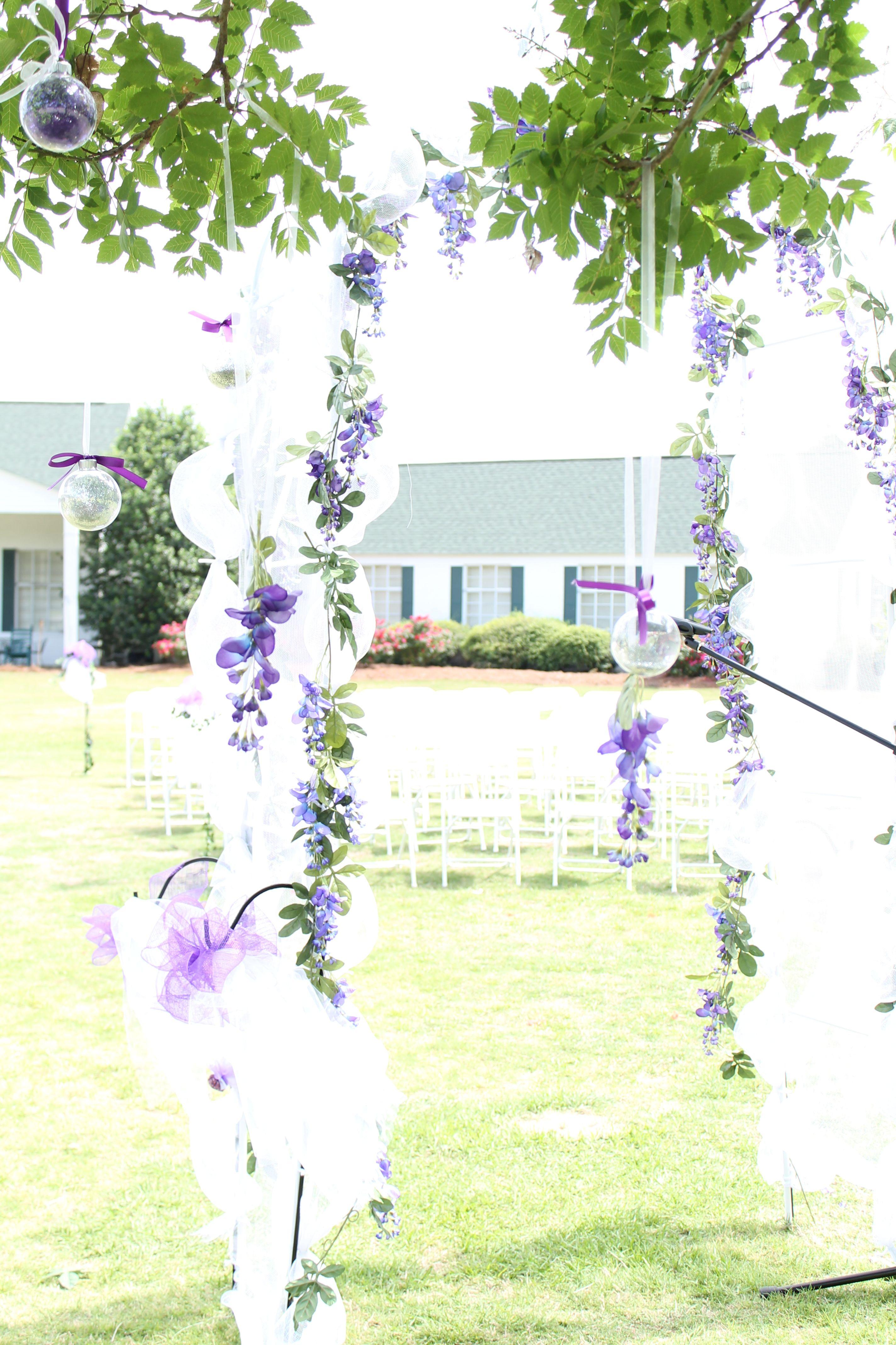 Wedding decorations arch  Wedding Arch  My Wedding   Pinterest  Diy wedding decorations
