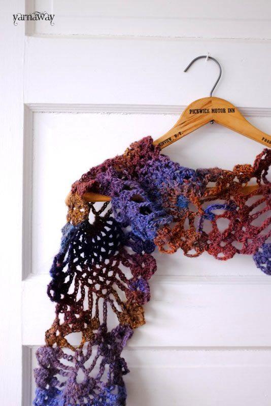Bufanda en forma de piña | Tejiendo | Pinterest | Bufanda cuello ...