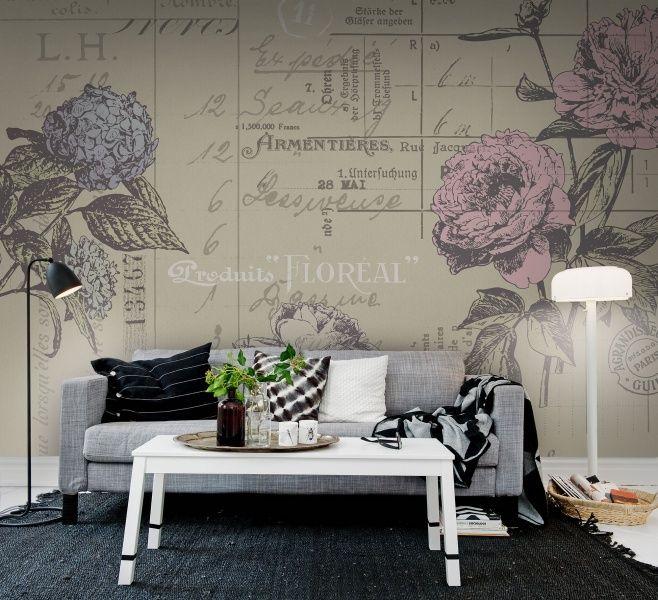 Floreal kleur   Behang REBEL WALLS