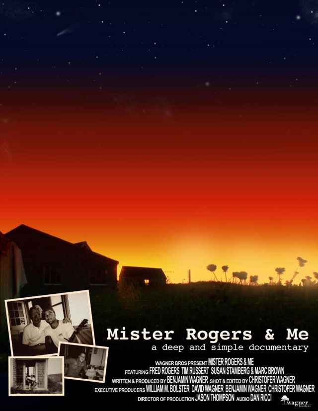 Mister Rogers Me A Documentary Film About Fred Rogers By His Real Life Summer Neighbor Mr Rogers Fred Rogers Mister Rogers Neighborhood