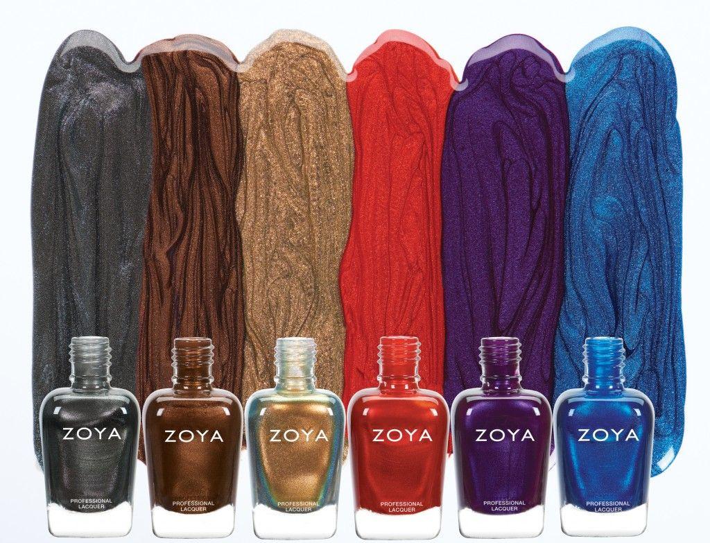 Review, Shades, Colors: ZOYA Focus and Flair Nail Polish Collection ...