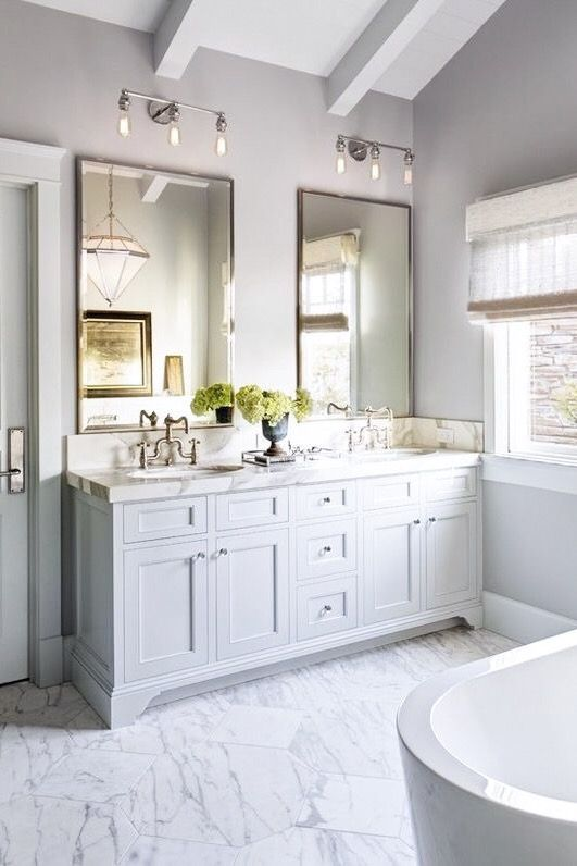 Pin By Lili Of Swanky Chic Fete On Casa Bathroom Master