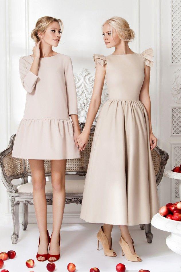 Платье «Даниэла» беж — 14 990 рублей 5a9eb9b4ba5b9