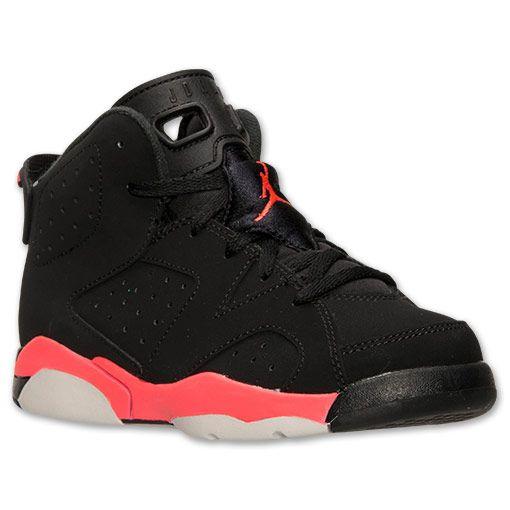 half off e4ff4 483b5 Boys' Preschool Air Jordan Retro 6 Basketball Shoes | Finish ...