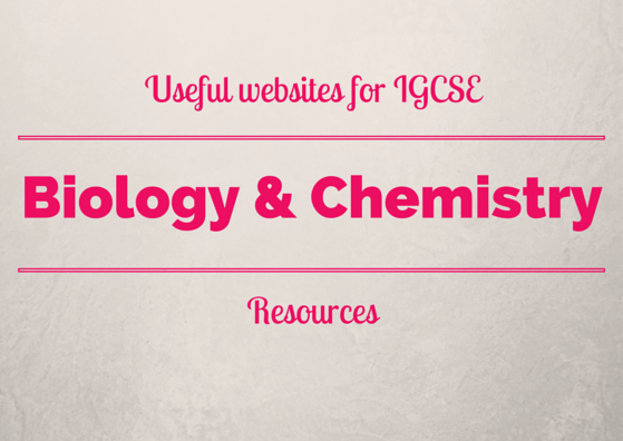 Useful websites for igcse biology and chemistry resources igcse a list of where to find resources past papers and revision notes for cie igcse fandeluxe Gallery