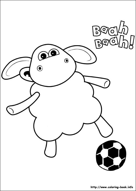 Timmy Time Coloring Picture ぬりえ Coloriagedessindessin A