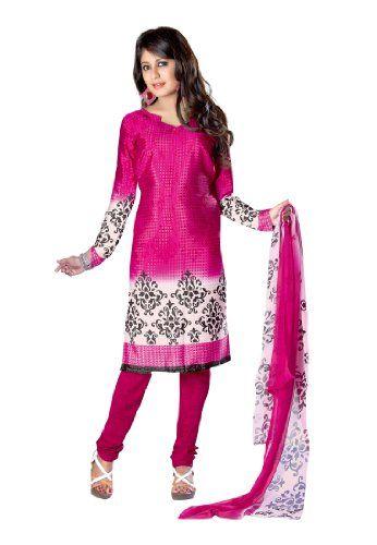 Fabdeal Women's Indian Designer Wear Printed Salwar Magenta & White Fabdeal,http://www.amazon.com/dp/B00FSALGQY/ref=cm_sw_r_pi_dp_mEtptb1YEV2DTDTW