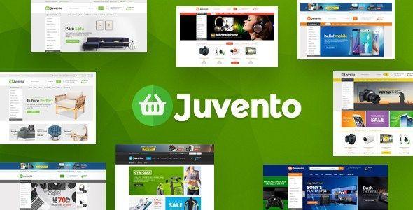 Temas Para Ecommerce | Juvento - Electrónica eCommerce Shopify Theme