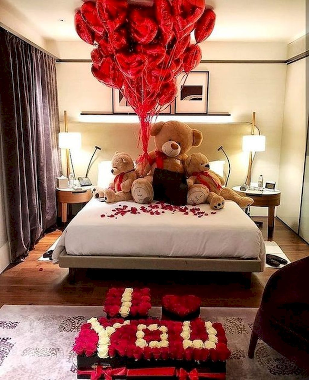 45 romantic bedroom decorations ideas for valentines day