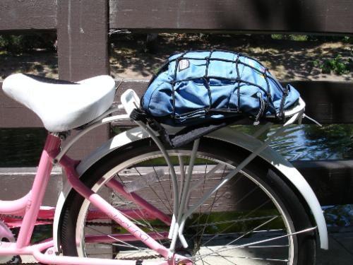 Pyramid Bicycle Bungie Cargo Net Black