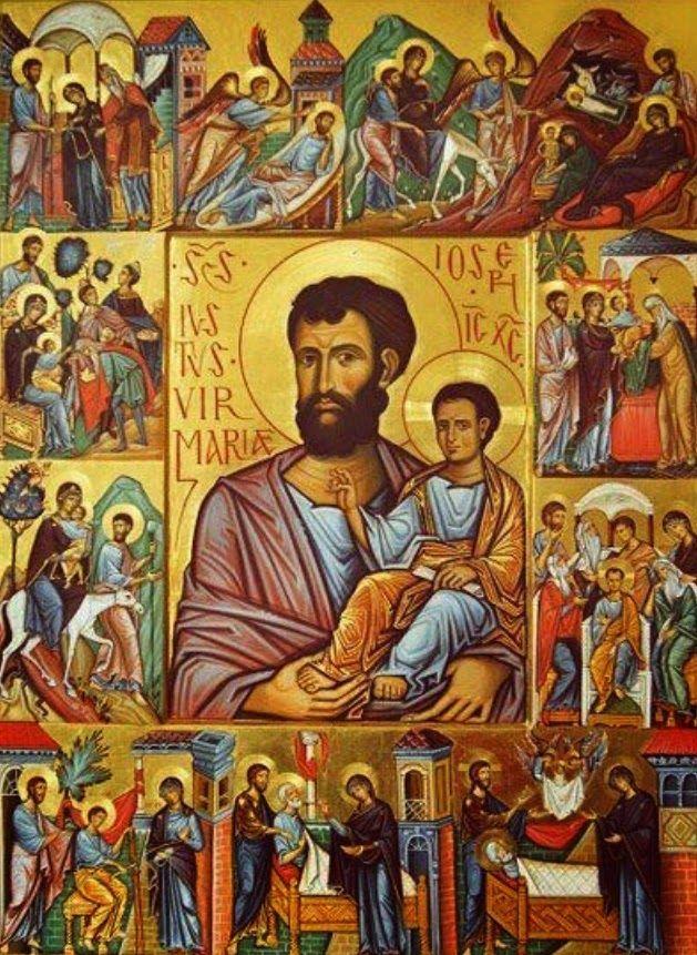 Resultado de imagen de san jose bizantino adoracion