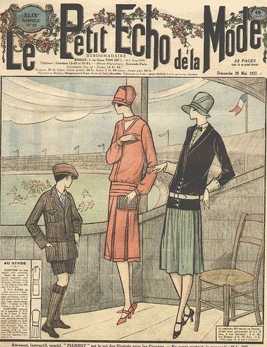 Petit Echo De La Mode : petit, Petit, Mode,, Vintage, Magazines,, Fashion, History,