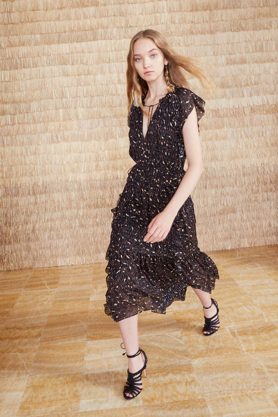 4859fb8b1c5b3 Nadya Dress - Jet in 2019 | DRESSES | Dresses, Midi dress with ...