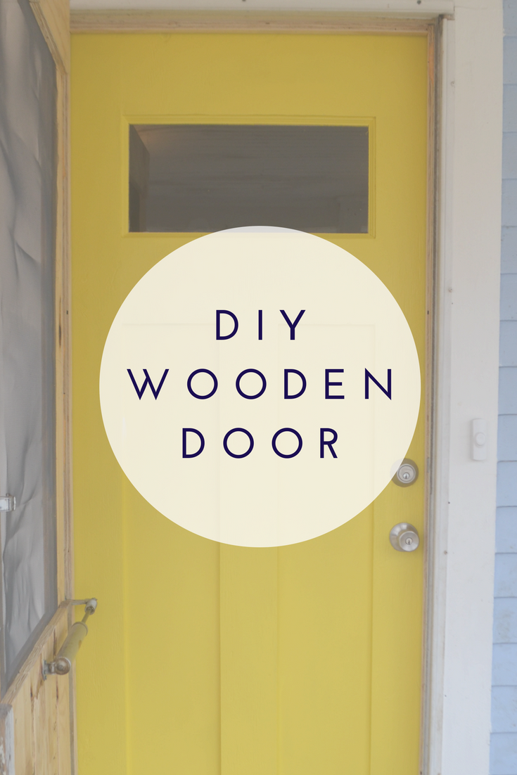 How to Build a DIY Front Entry Door by is part of Wooden Home Accessories DIY Ideas - Learn how to build a wooden front entry door with an easy to follow DIY tutorial by Hooks and Hammers