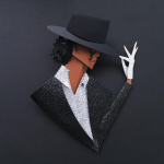 The Many Faces of Michael Jackson, a Tribute in Paper by Belinda Rodriguez | strictlypaper