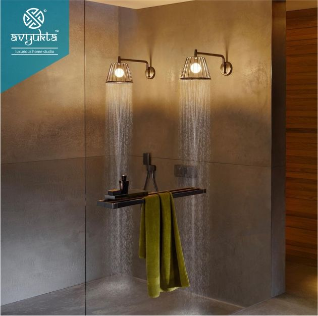 Hose looking to add a truly impressive element to their shower needn't look any further than the AXOR LampShower by Nendo. A stylish hybrid of water and light.  Borivali (W). Mumbai +91 7400404048.  #designerfaucet #postoftheday #faucet #showerstyle #modernshowerpanel #bestshowerpanels #luxuriousbath #luxuriousshower #bathroom #bathroomfittings #divertors #handshower #shower #showertypes #bathroomdecor #bathroomappliances #interiordesign #luxurybathrooms #aquant #grohe #hansgrohe #sternhagen #de