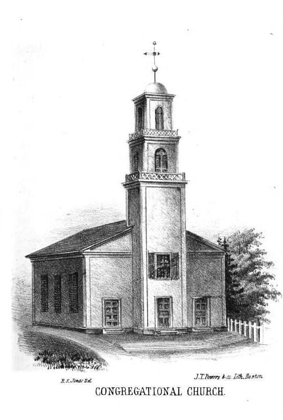 Pittston Congregational Church in Kennebec County, Maine.