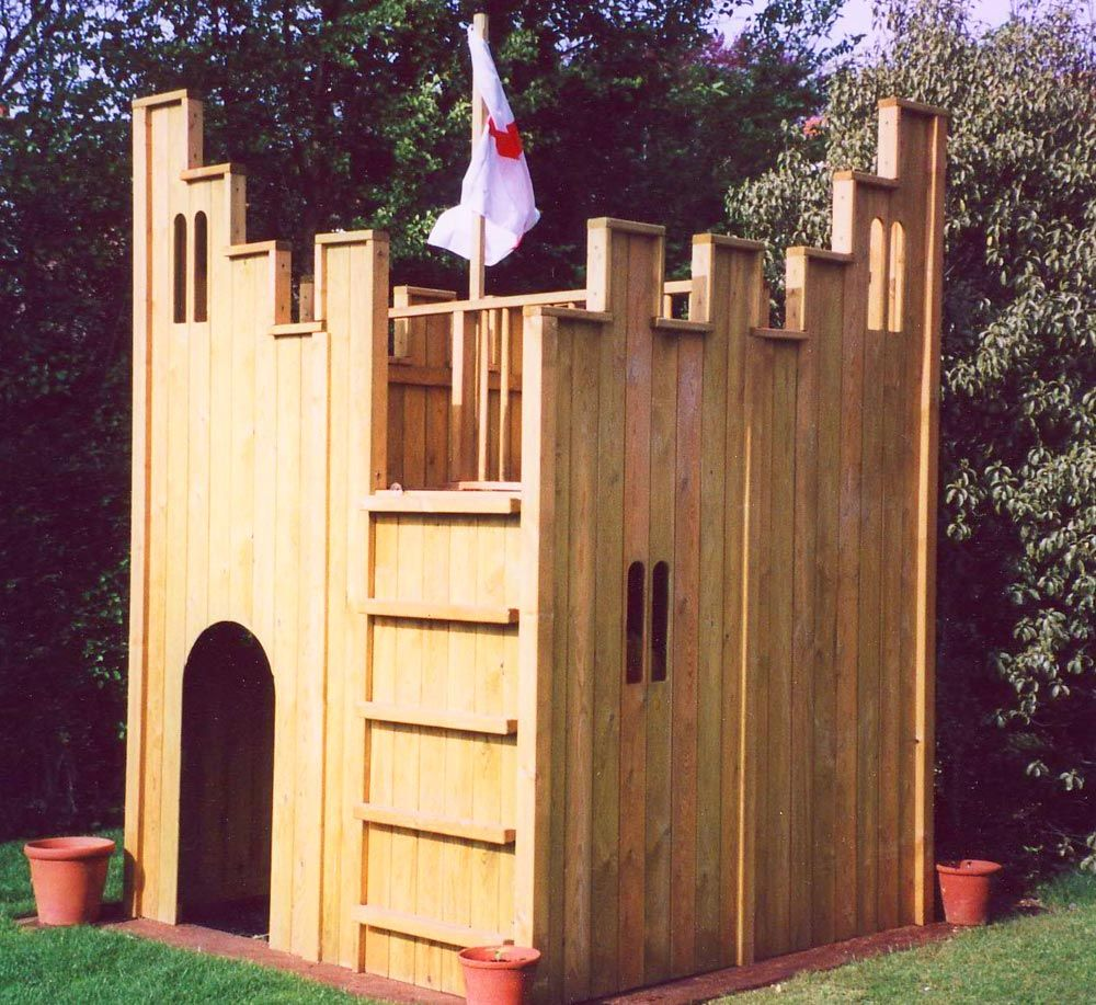 all out play fort wooden playhouse childrens playhouses