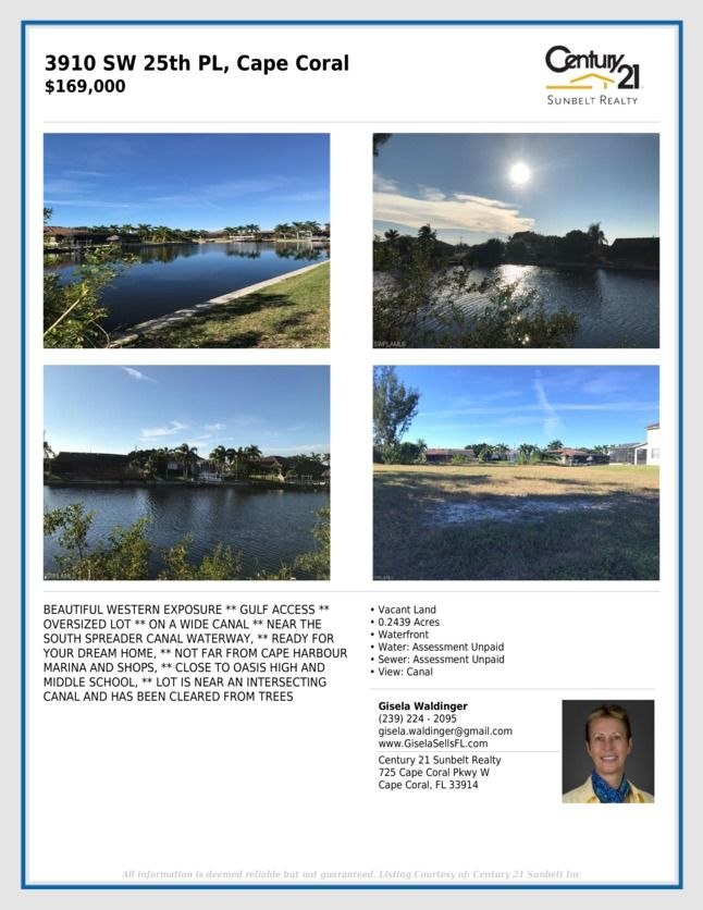 Open House | Cape coral, Waterway, Waterfront