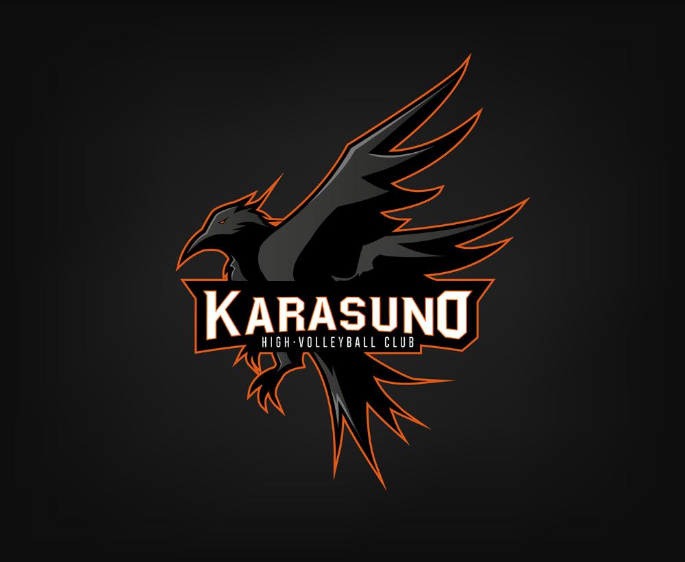 Karasuno Logo On Behance In 2020 Karasuno Haikyuu Anime Haikyuu Karasuno