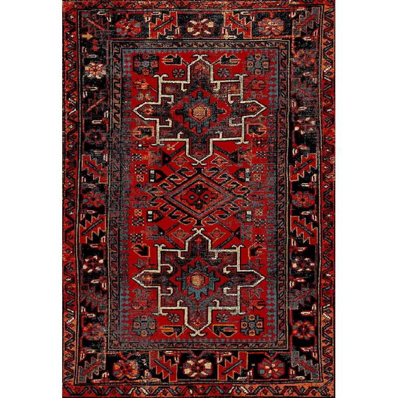 Tapis Rouge Barrera Area Rugs Rugs Red Area Rug