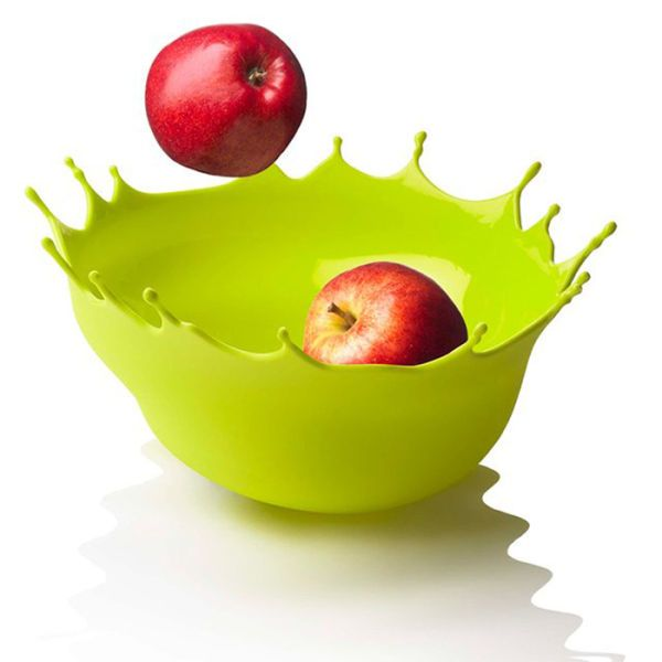 Menu Dropp Bowl Spring Leaf Drop Your Fruit Off In Sumptuous Style This Gorgeous Lime Green