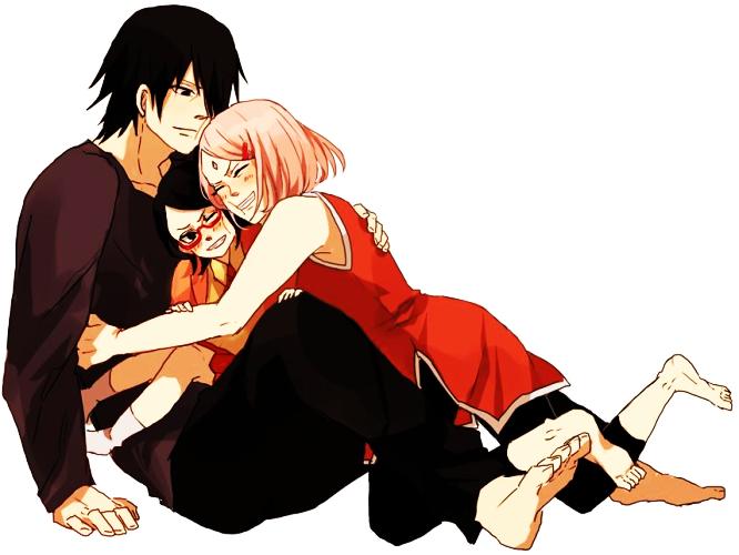 #sakura #haruno #sasuke #uchiha #sarada #uchiha #naruto #shippuden #gaiden #fanart #anime