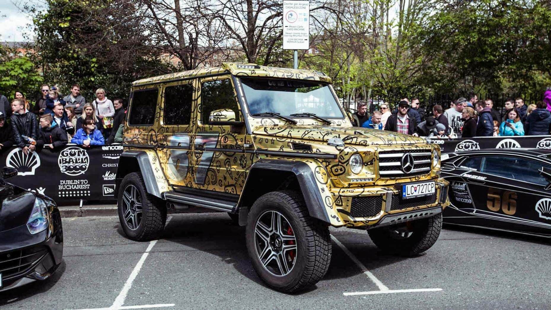 Mercedes Classe G Gumball 3000 2016 Gumball course