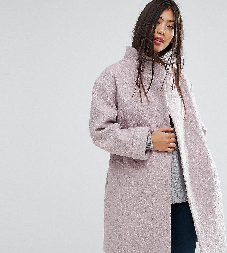 Damen Asos Petite Strukturierter Mantel Rosa 2201464843143 Mantel Frauen Bekleidung Und Mantel Kurz