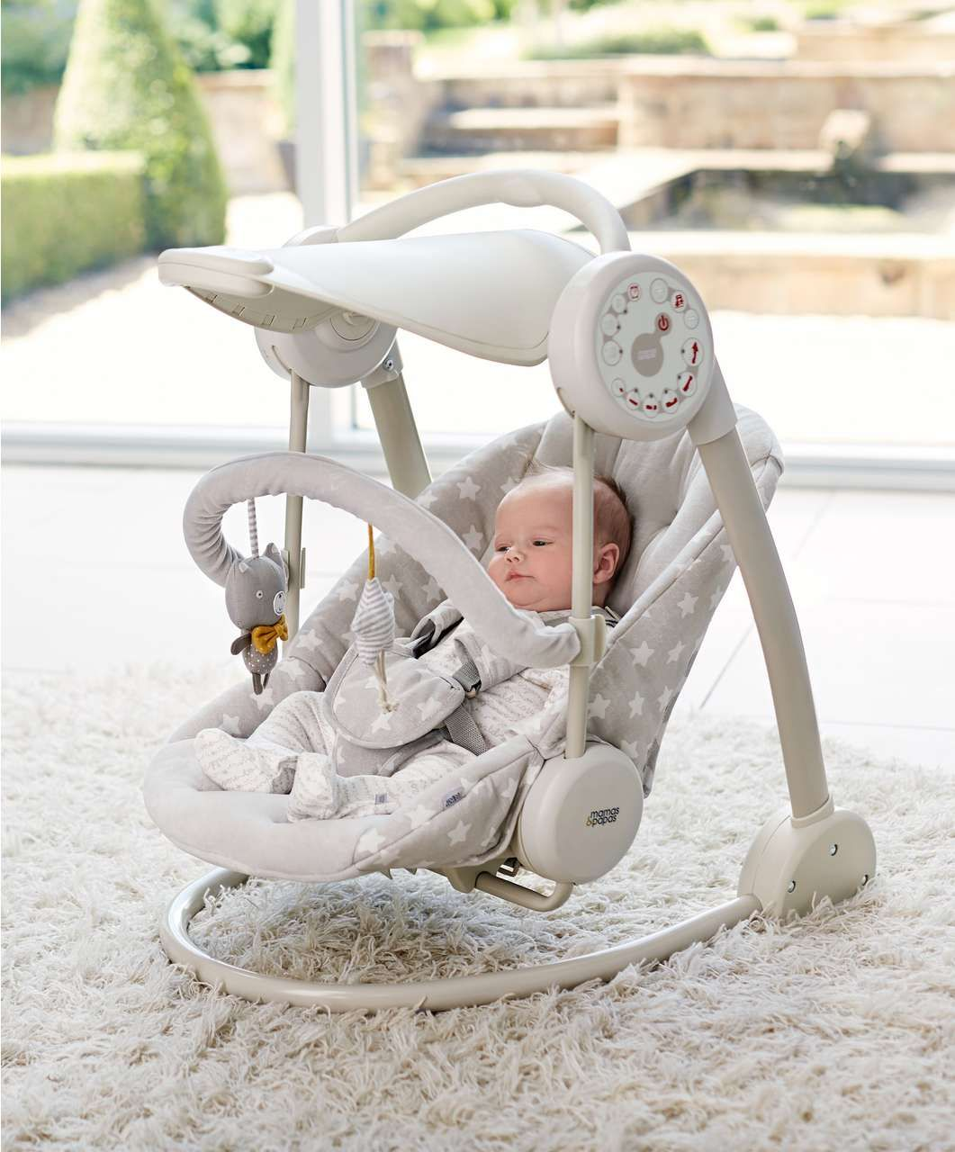 swing chair mamas and papas linen dining slipcovers starlite catch a star new arrivals