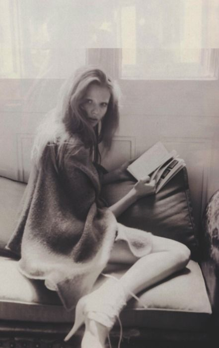 Magdalena Frackowiak by Paolo Roversi for  French Vogue (October 2007)