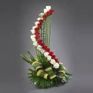 Flower Arrangement Pictures In Basket Bing Images Arreglos Florales Sencillos Arreglos Florales Tropicales Arreglos Florales Creativos