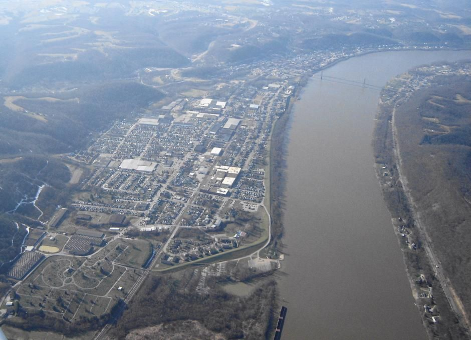 Simon Kenton Memorial Bridge, Maysville, KY | Reflections Upon My ...