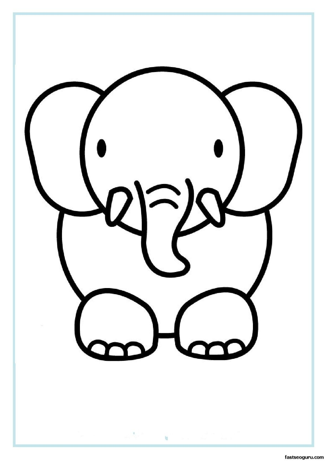 Printable Coloring Pages Animals #3 | Coloring Pages | Pinterest ...