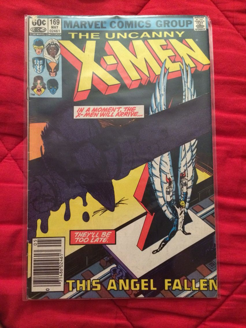 Uncanny X-Men issue 169 featuring the first appearances of Callisto and the Morlocks