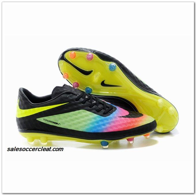 2015 Nike Hypervenom Phantom FG Rainbow Shine Through60 57