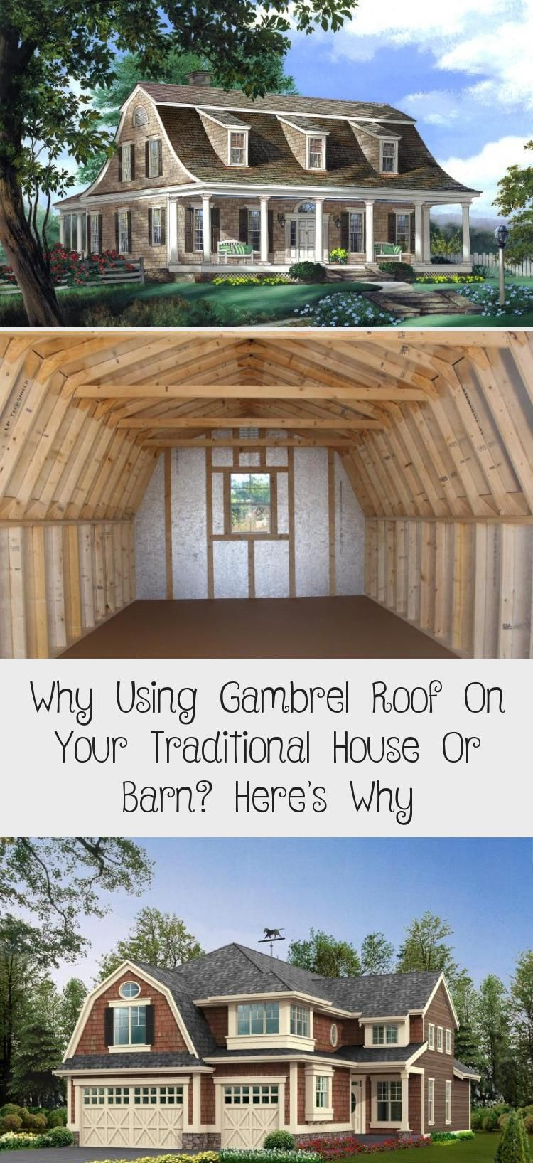 Find And Save Ideas About Gambrel Roof On Pinterest See More Ideas About Storage Building Homes Gambrel Barn And Small M Gambrel Roof Gambrel Gambrel Style