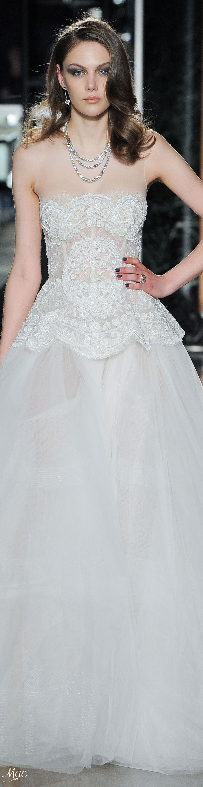 Spring bridal reem acra one sweet day pinterest spring